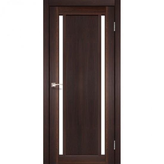 Дверь Oristano OR-02 со стеклом сатин Орех