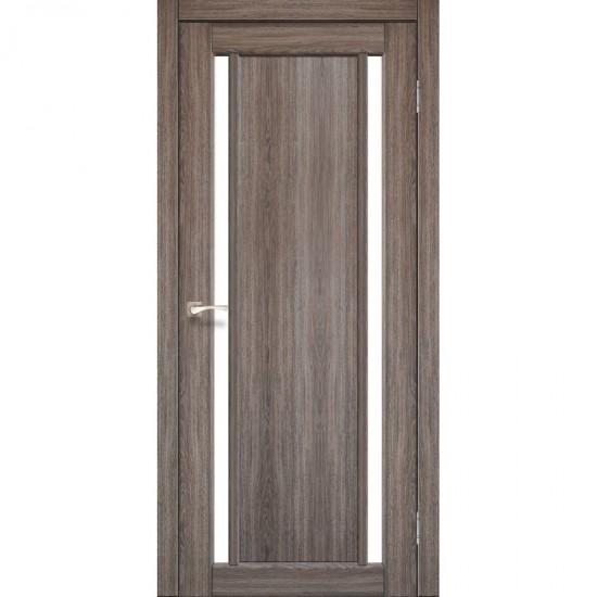 Дверь Oristano OR-02 со стеклом сатин Дуб грей