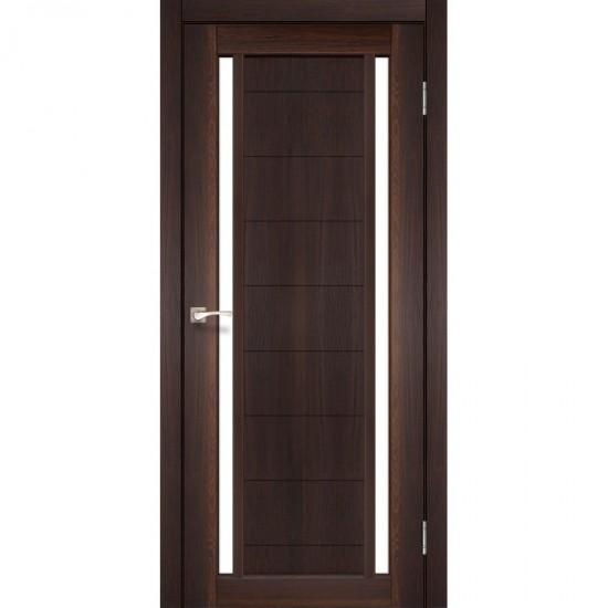 Дверь Oristano OR-04 со стеклом сатин Орех