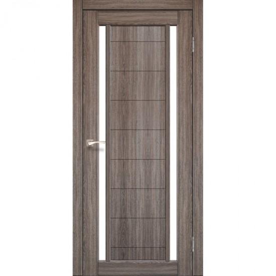 Дверь Oristano OR-04 со стеклом сатин Дуб грей