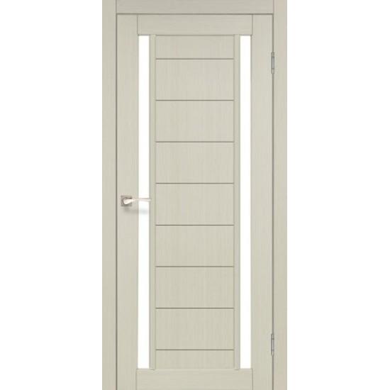 Дверь Oristano OR-04 со стеклом бронза Дуб беленый