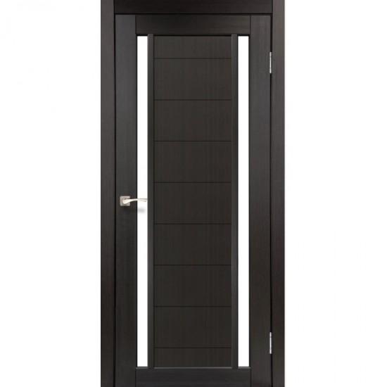 Дверь Oristano OR-04 со стеклом бронза Венге