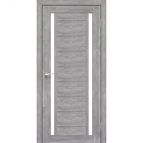 Дверь Oristano OR-04 со стеклом бронза Лайт бетон