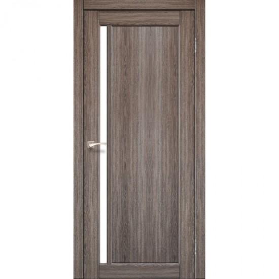 Дверь Oristano OR-06 со стеклом сатин Дуб грей