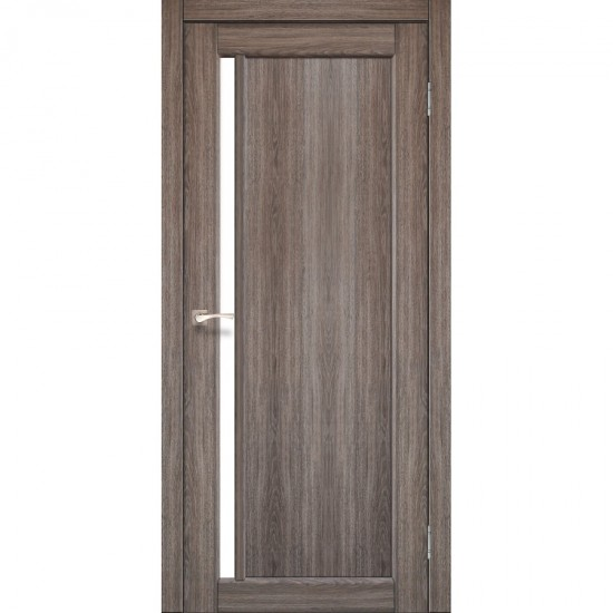 Дверь Oristano OR-06 со стеклом сатин Дуб тобакко