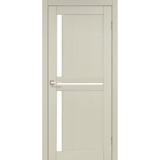 Дверь Scalea SC-02 со стеклом сатин Дуб беленый