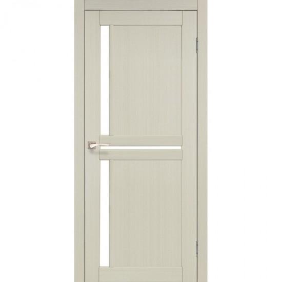 Дверь Scalea SC-02 со стеклом сатин Белый перламутр