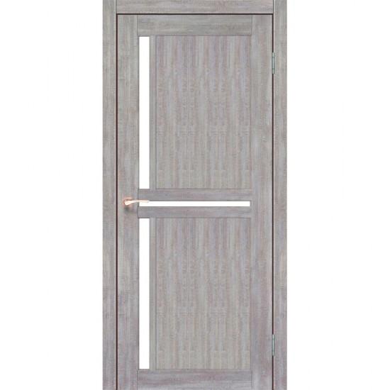 Дверь Scalea SC-02 со стеклом бронза Эш-вайт