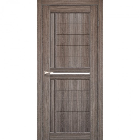 Дверь Scalea SC-03 со стеклом сатин Дуб грей