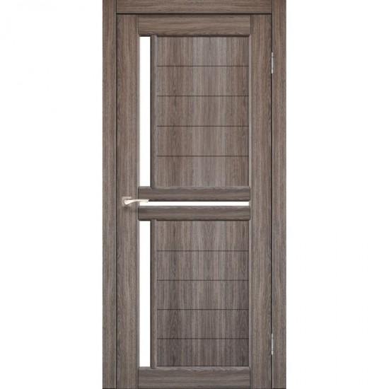 Дверь Scalea SC-04 со стеклом сатин Дуб грей
