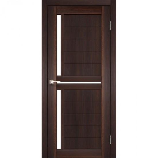 Дверь Scalea SC-04 со стеклом сатин Дуб марсала