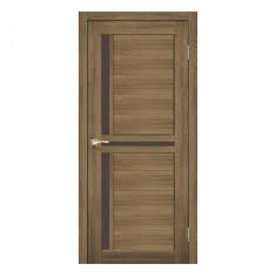 Дверь Scalea SC-04 со стеклом сатин Дуб тобакко