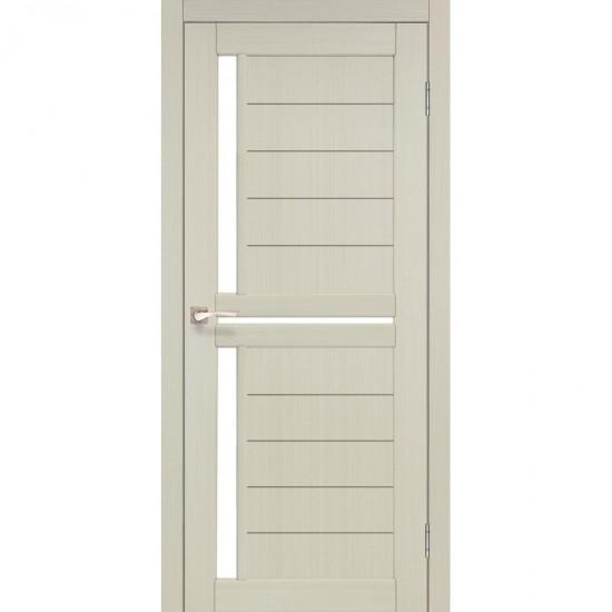 Дверь Scalea SC-04 со стеклом бронза Дуб беленый