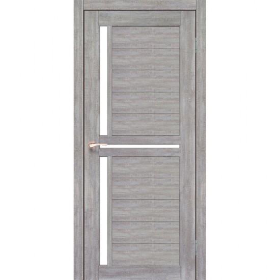 Дверь Scalea SC-04 со стеклом бронза Эш-вайт