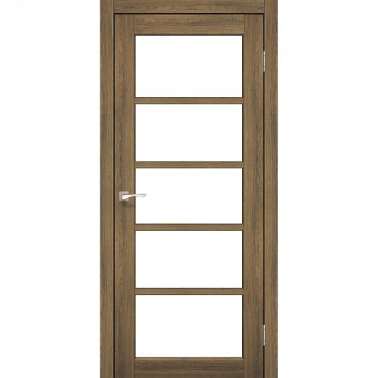 Дверь Vicenza VC-02 со стеклом сатин Дуб браш