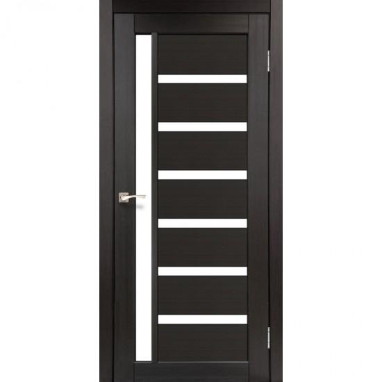Дверь Valentino VL-01 со стеклом сатин Венге
