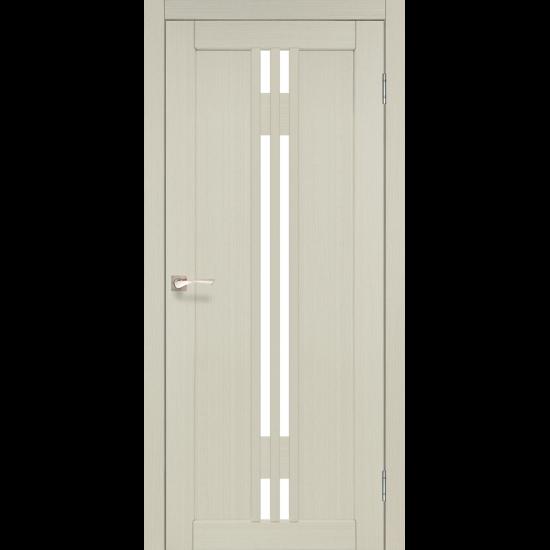 Дверь Valentino VL-05 со стеклом сатин Дуб беленый
