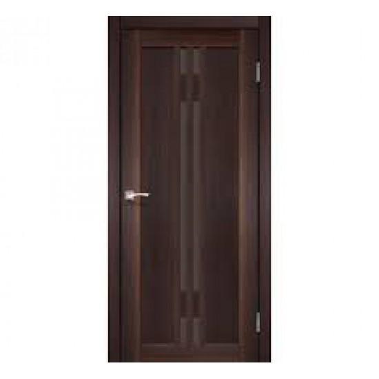 Дверь Valentino Deluxe VLD-05 со стеклом бронза Венге