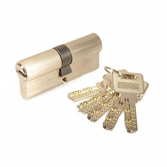 Цилиндр для дверного замка KEDR ZINK M60 ZN SN
