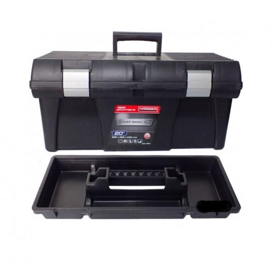 Ящик для инструмента 415х226х200 мм Haisser Staff Basic Alu 90012