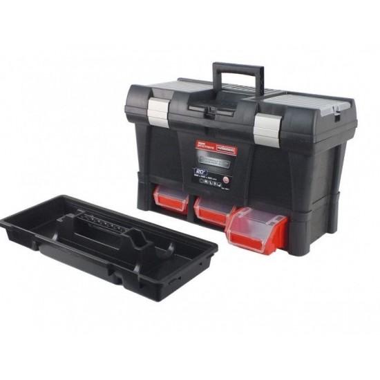 Ящик для инструмента 525х256х325 мм Haisser Stuff Module System Semi Profi Alu 90017