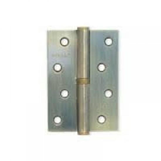 Петля дверная сьемная KEDR 100х75 AB-L пара