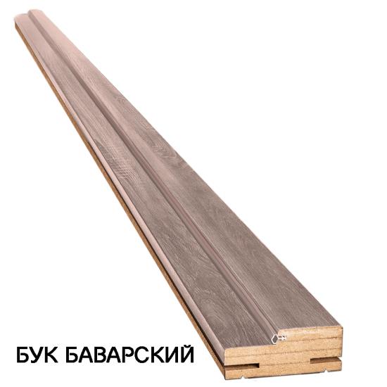 Коробка деревянная ПВХ Вива телескопическая 100х32