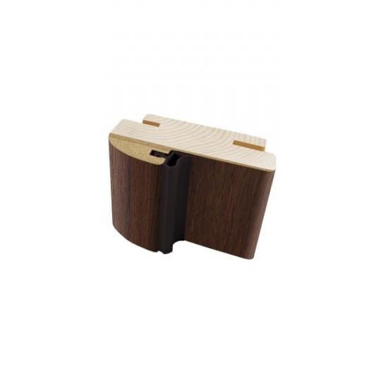 Коробка деревянная телескоп Korfad 100х40 мм орех