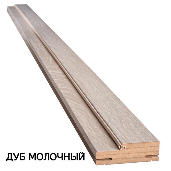 Коробка деревянная ПВХ Ультра телескопическая 100х32
