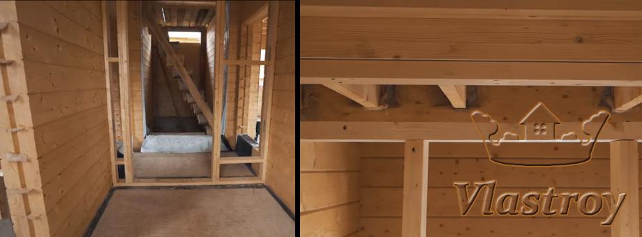 Стены, перекрытия из древесины